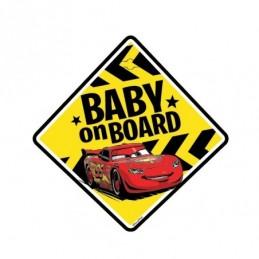 CARTEL BABY ON BOARD/ BEBÉ...